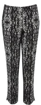 Warehouse printed trousers