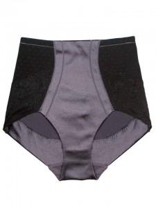 Scandale mid waist pants silver