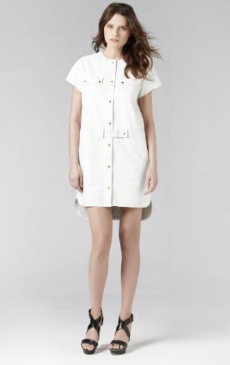 Gerard Darel white dress £68