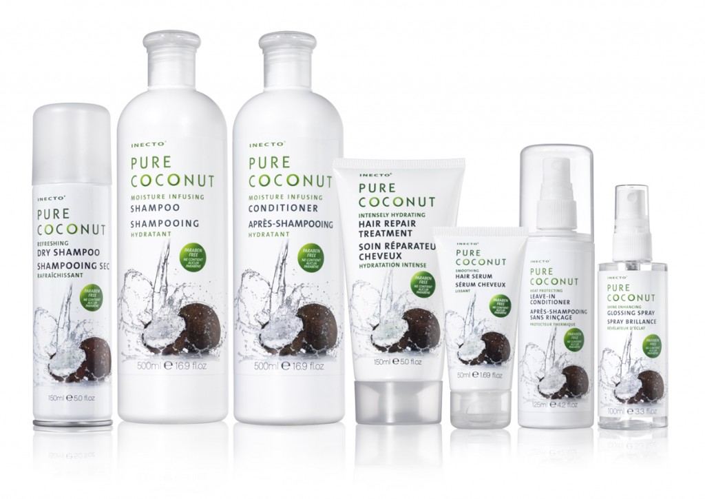 Pure Coconut Hair care group