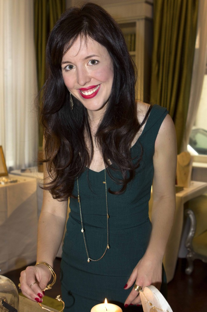 Chupi Sweetman at the launch of the Chupi Winter Jewellery Collection at The Dylan Hotel