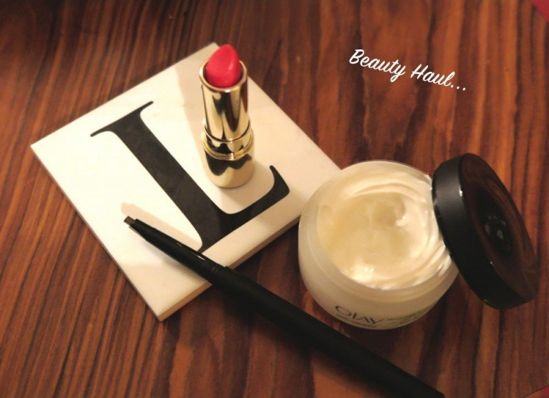 Beauty Haul featuring Olay, Sleek make up, Clarins