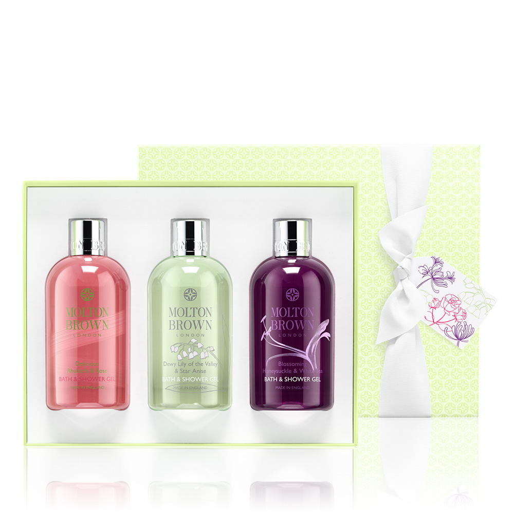 Molton Brown Timeless Florals Bathing Gift Trio €55