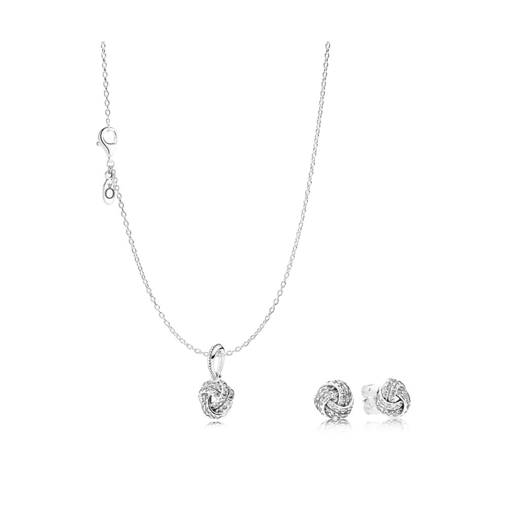 PANDORA Sparkling Love Knot Mother' s Day Bundle. Was €129, NOW €119