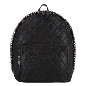 Stella McCartney Falabella Quilted Backpack €940, Brown Thomas
