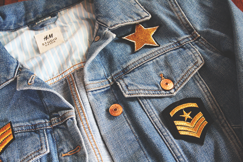 How to customise a denim jacket. Easily.