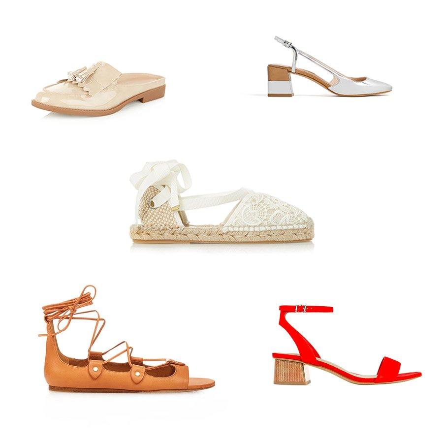 My top five summer shoes