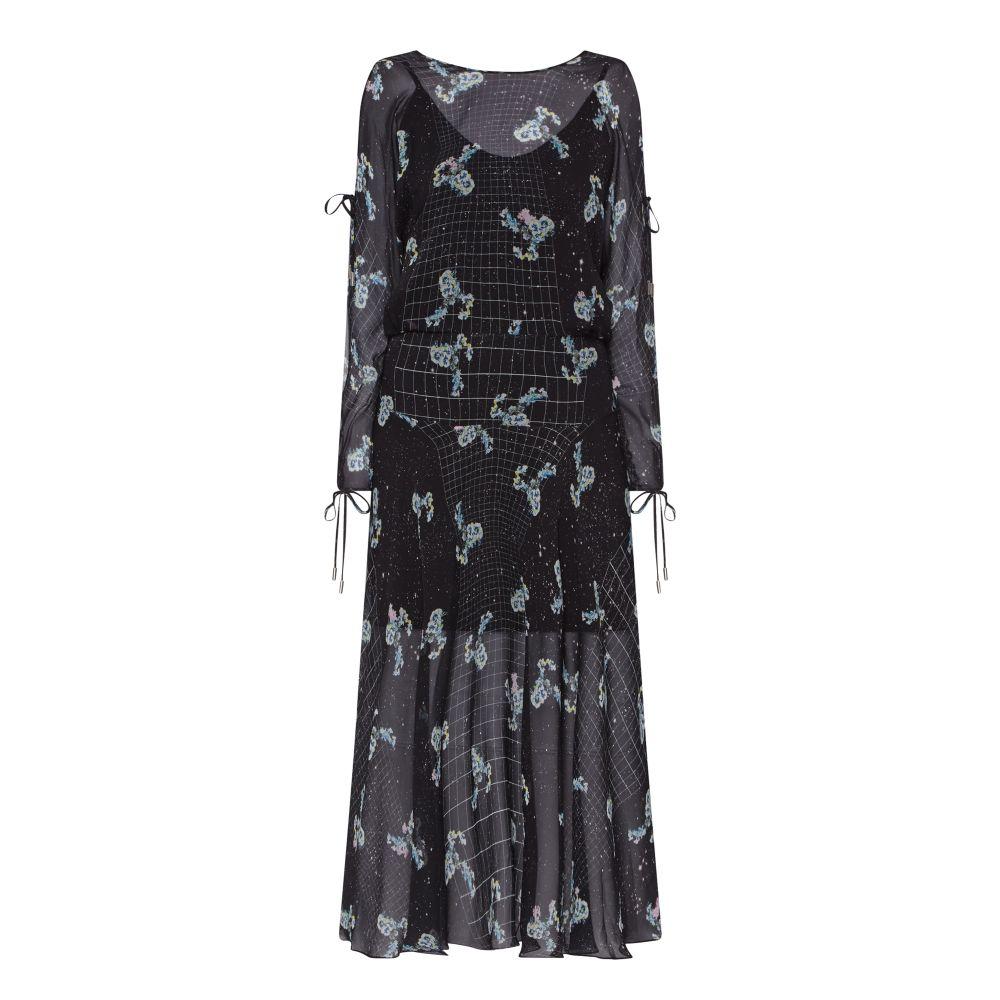Preen By Thornton Bregazzi Sharon Silk Midi Dress