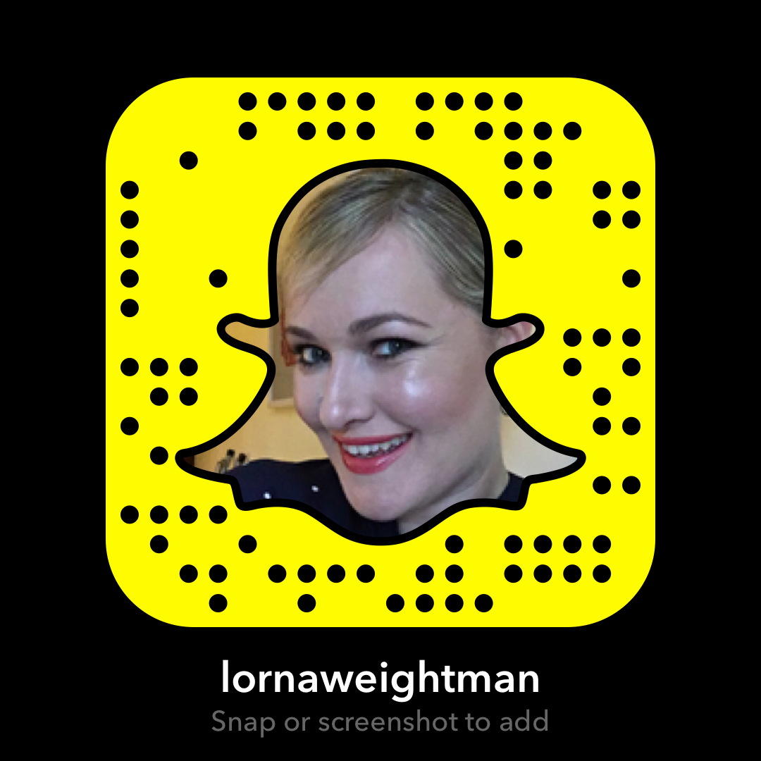 lornaweightman on Snapchat