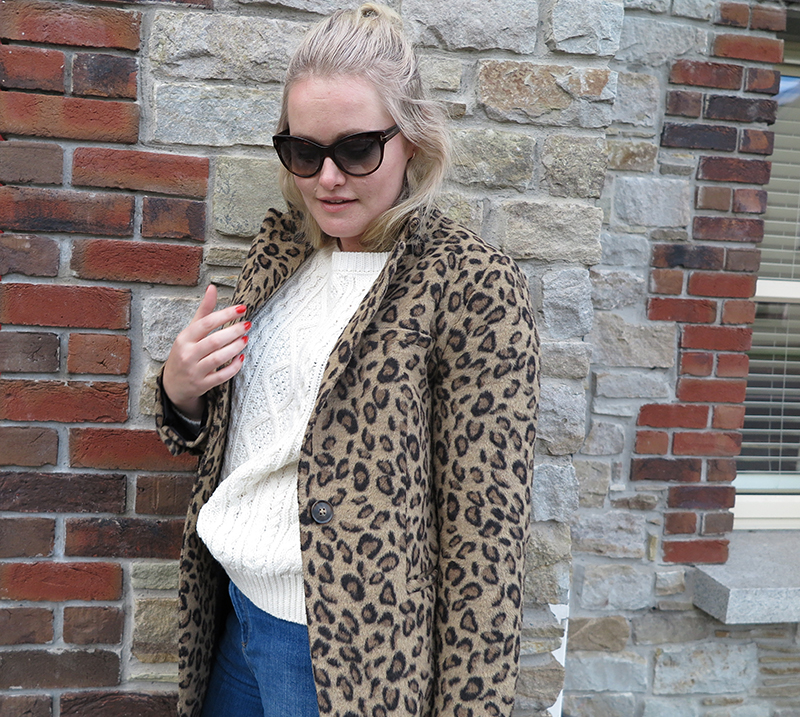 Penneys Animal Print Coat