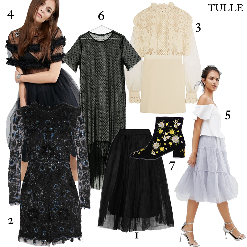 How to Wear Tulle