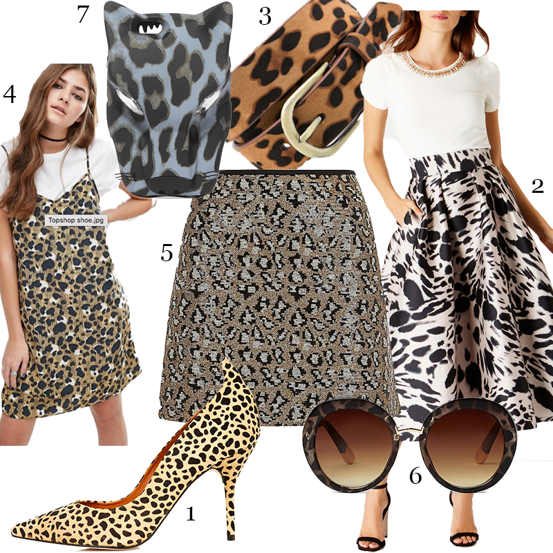 How To Style Animal Print, Part Two.