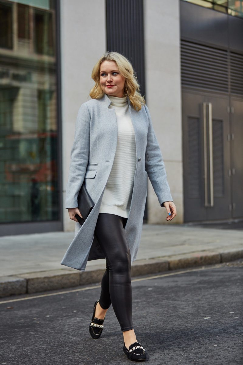 Mint Velvet Grey Coat