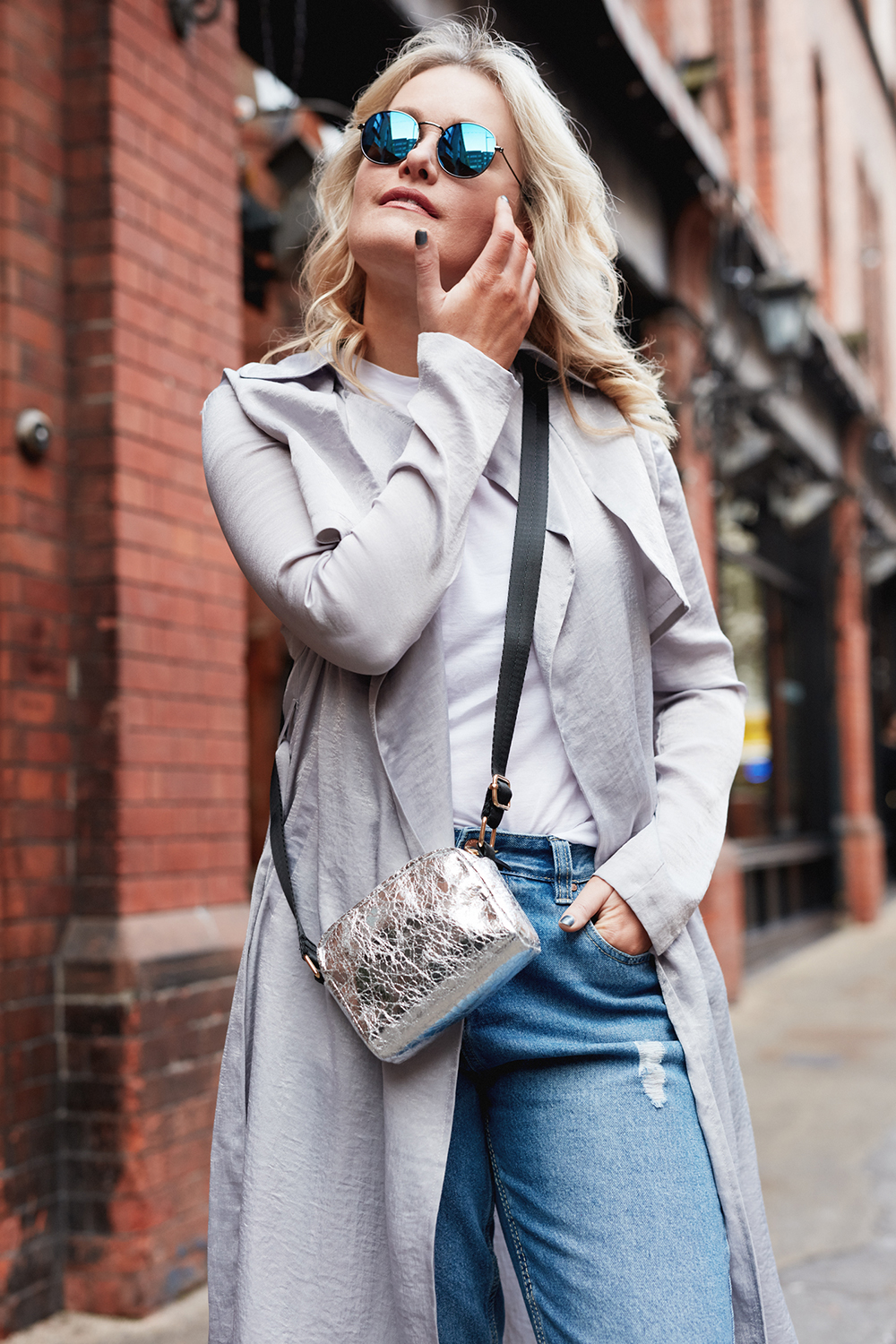 How to style Metallics with Penneys