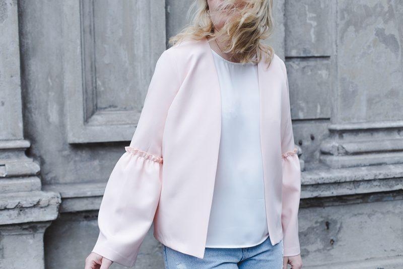 Pastel Pink Jacket