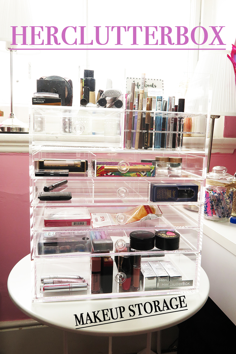 Makeup Storage Solutions with HerClutterBox
