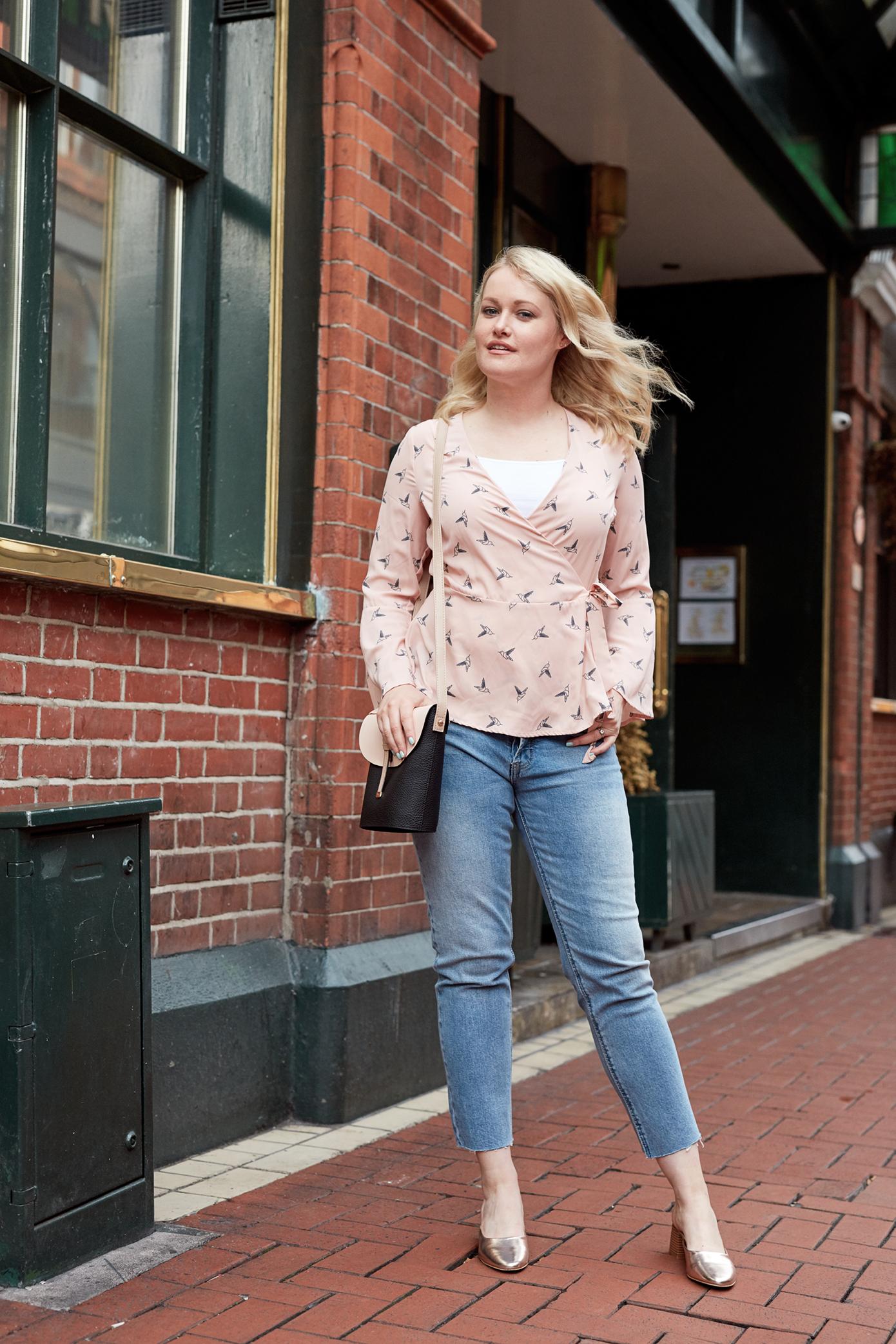 Ways to wear boyfriend jeans Part 2