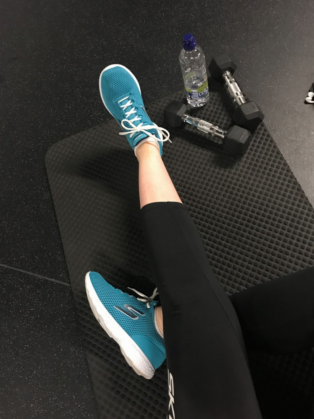 workout routine with skechers