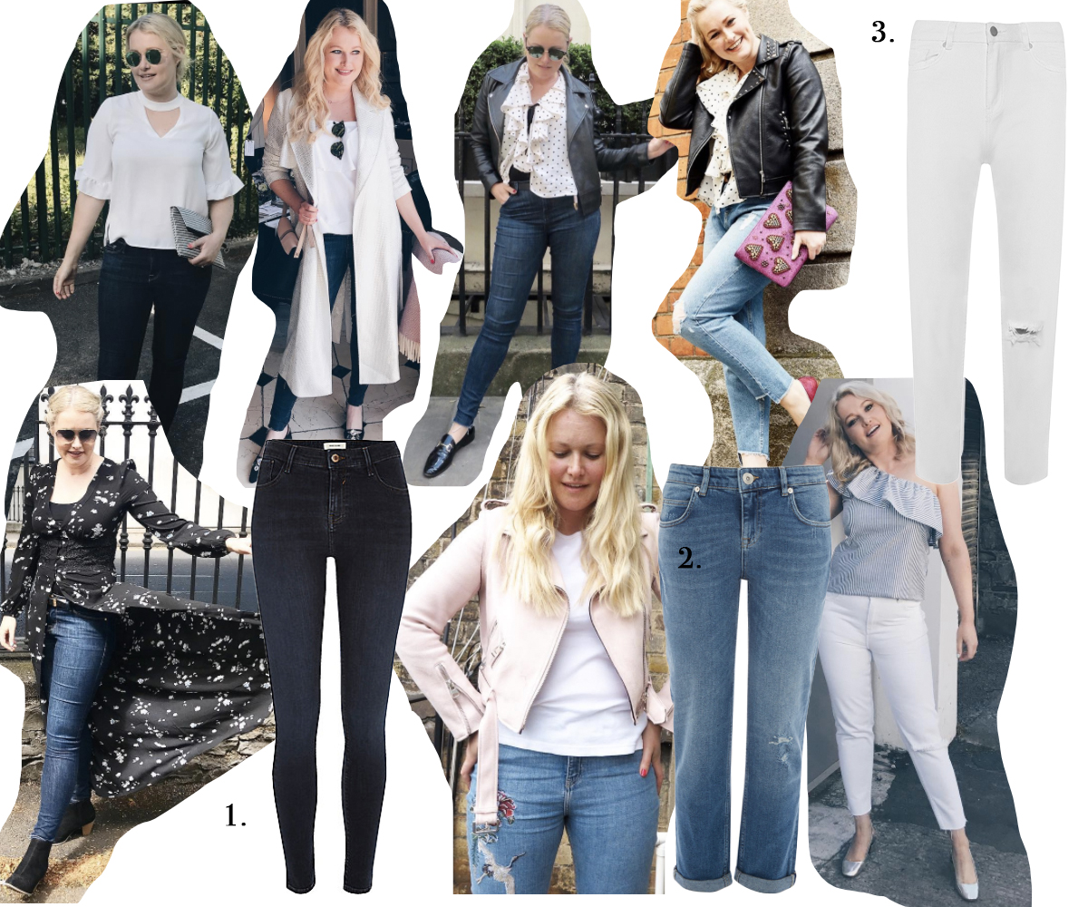 MY TOP THREE HIGH STREET JEANS