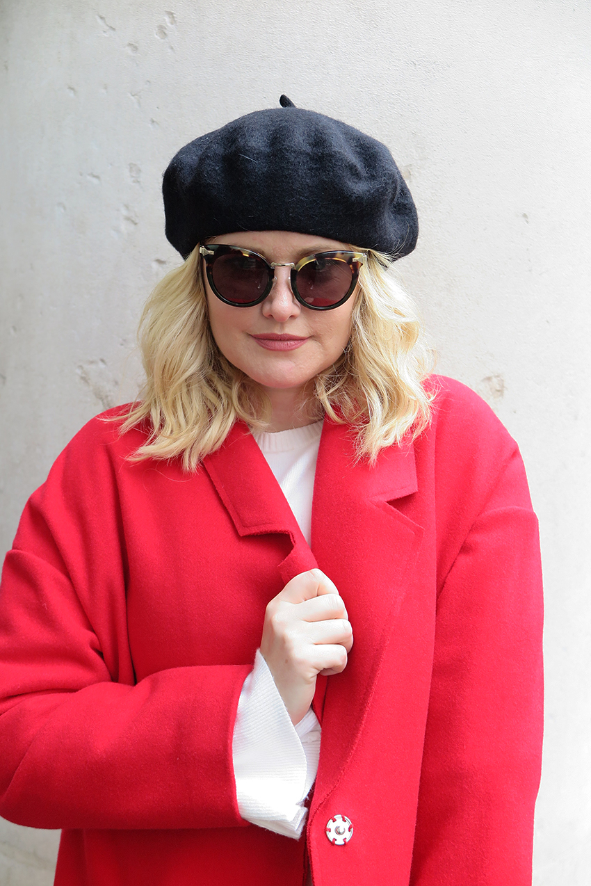 THE PERFECT RED COAT