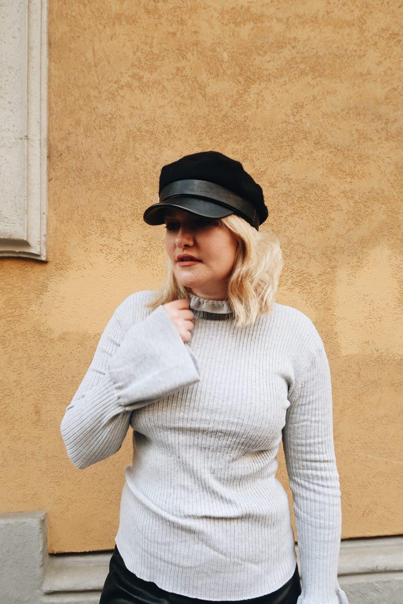 Lorna Weightman wears Penneys knitwear