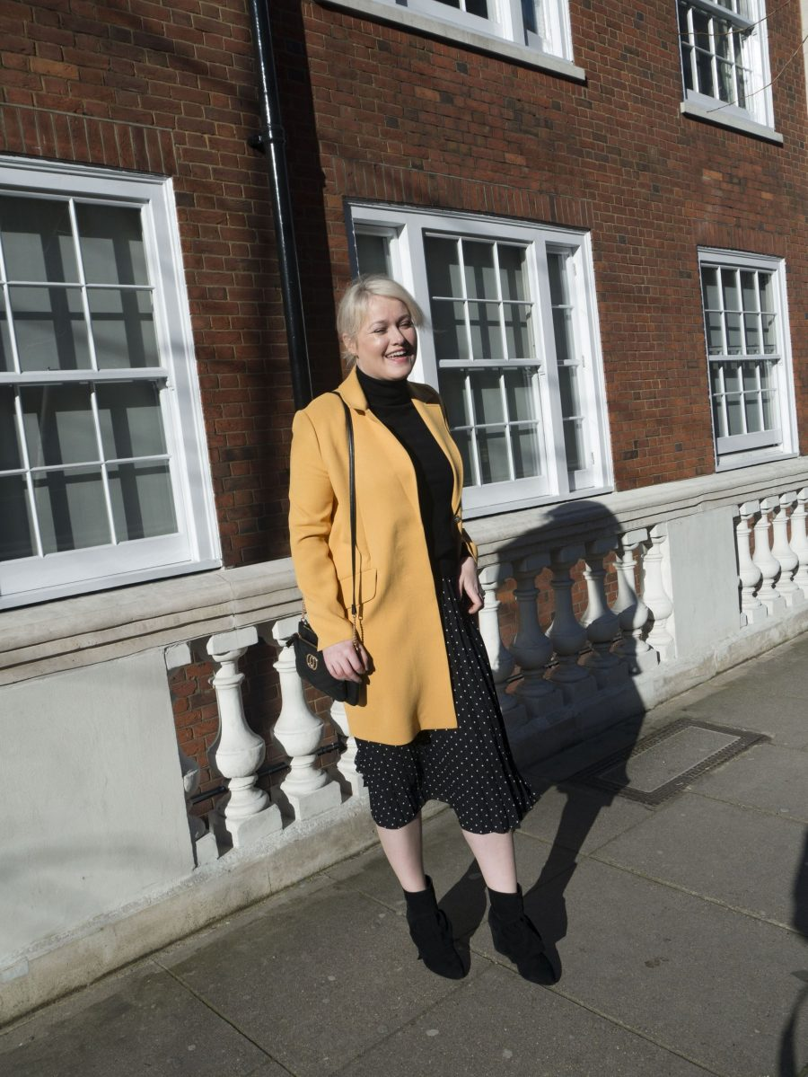Lorna Weightman London Fashion Week wearing Penneys