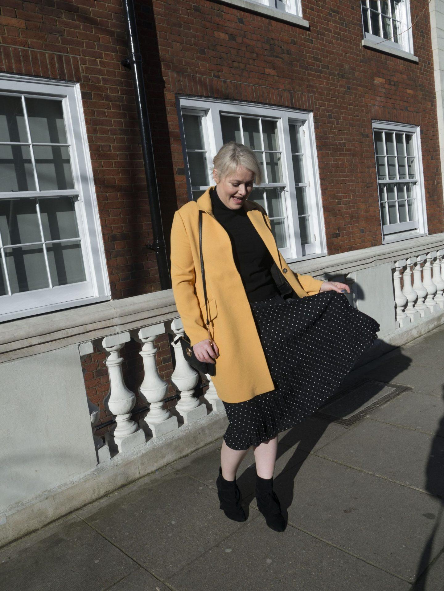 Lorna Weightman London Fashion Week wearing Penneys