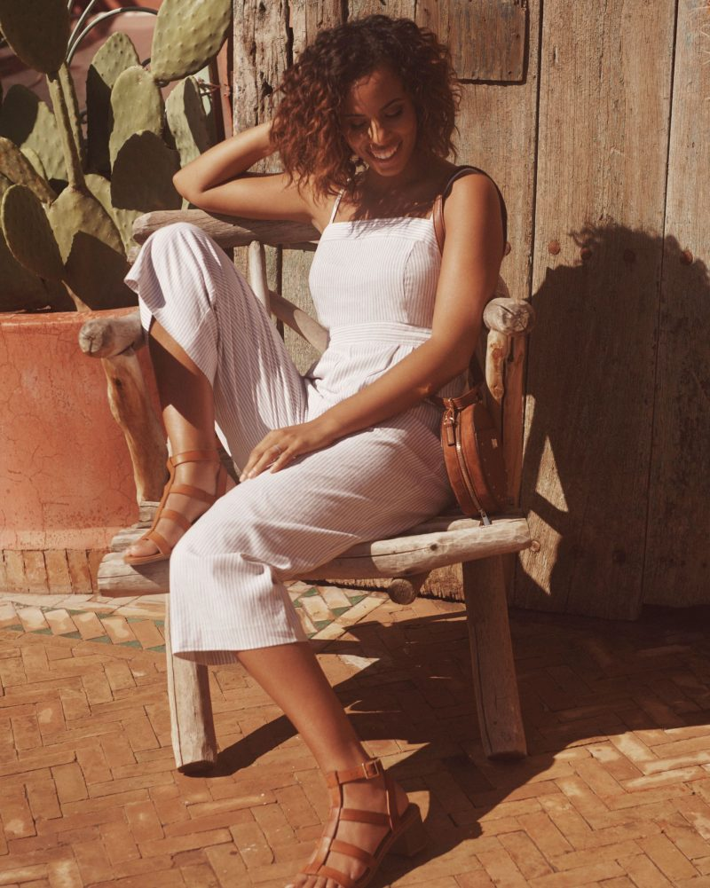 Rochelle for New Look grey jumpsuit