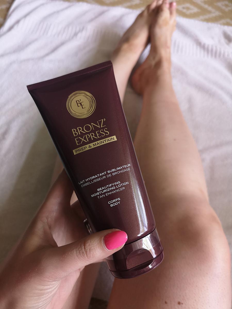 Bronz Express fake tanning tips