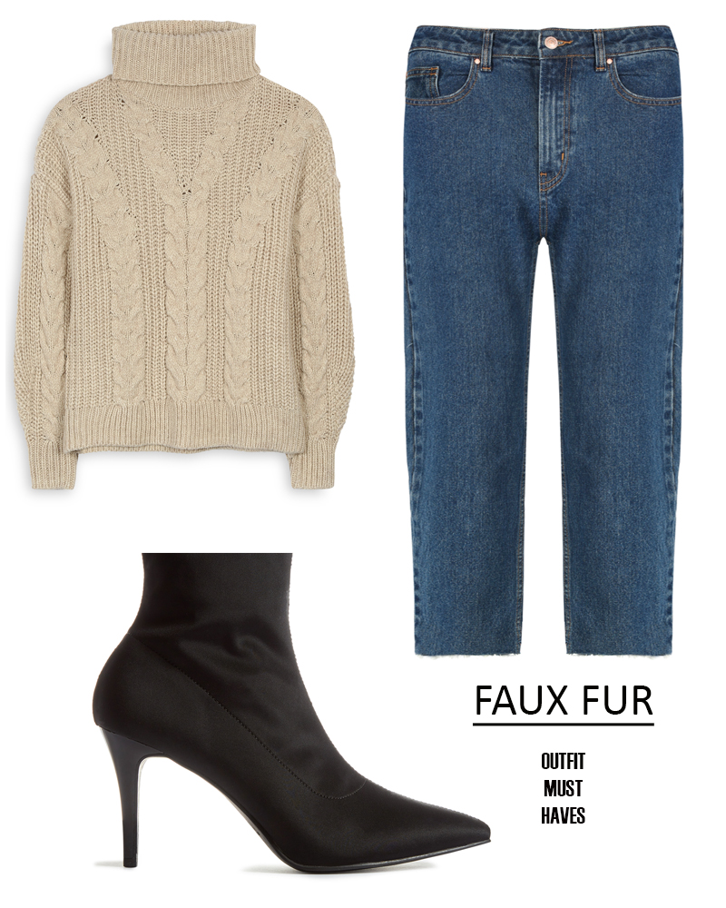 ways to style a faux fur jacket